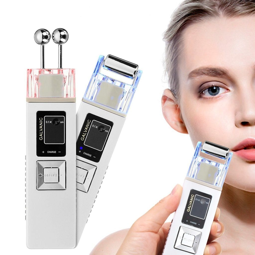 Anion Firming Beauty Instrument Whitening Remove Freckle Cleansing Iontophoresis Massager Skin care