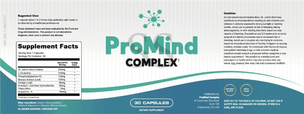 Promind Complex Ingredients